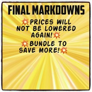Accessories - 💥FINAL MARKDOWNS 💥